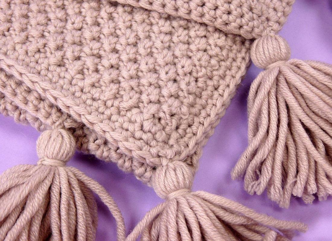 Bonnet et couverture pour bébé - Bab la bricoleuse
